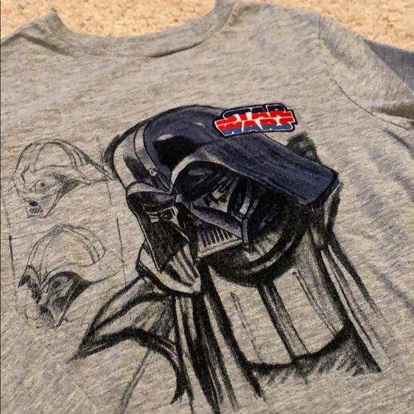 4T Toddler Boys L//S Outfit STAR WARS Black Pants /& L//S Shirt nwt Darth Vader